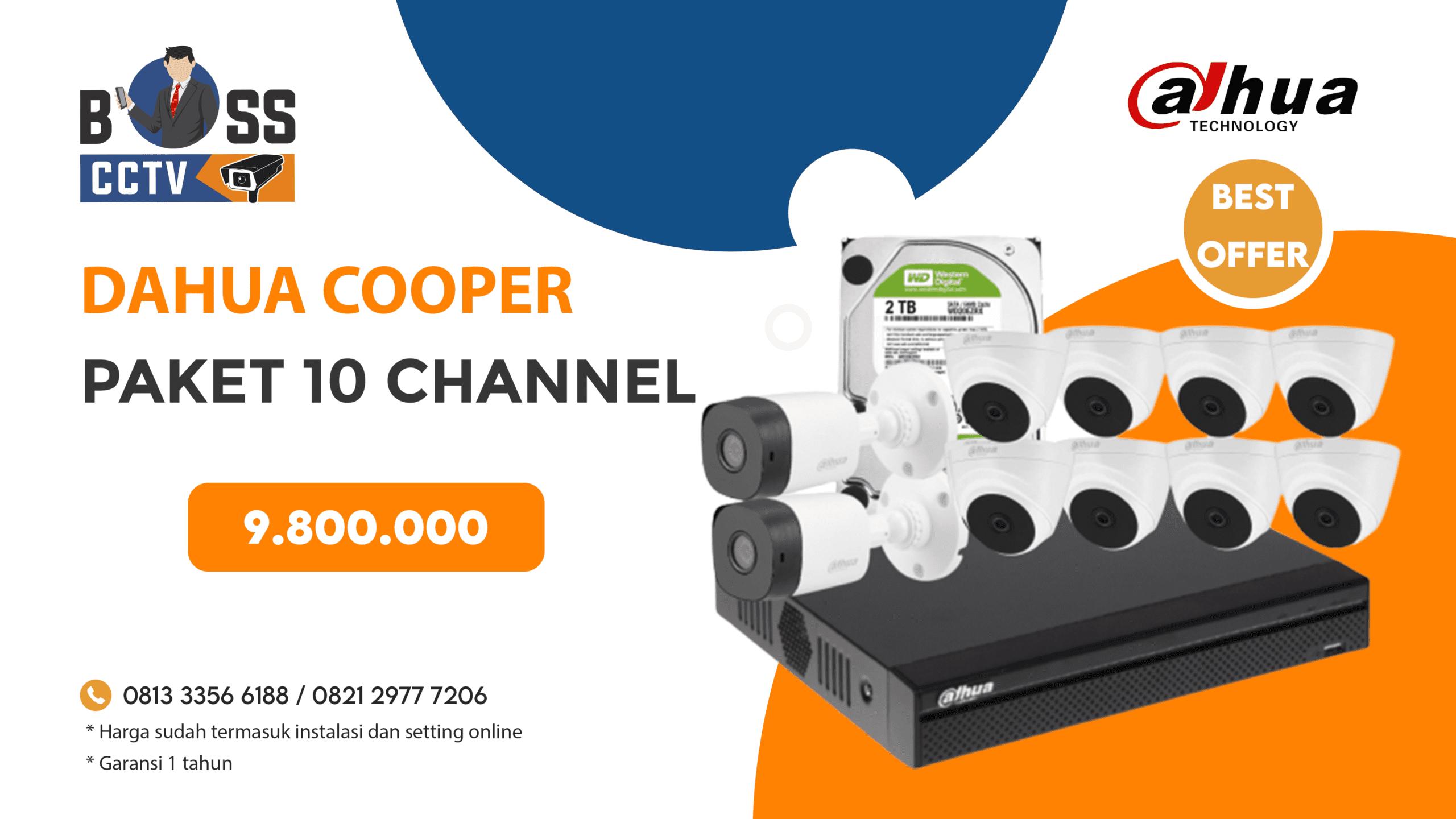 Paket CCTV Dahua Cooper 2 CH