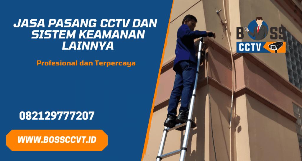 Jasa Pasang CCTV Cisoka Tangerang dan Paket CCTV Murah