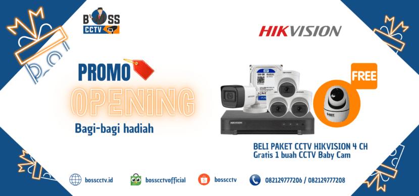 Promo Paket CCTV Murah 2021 Free Instalasi dan Setting Online