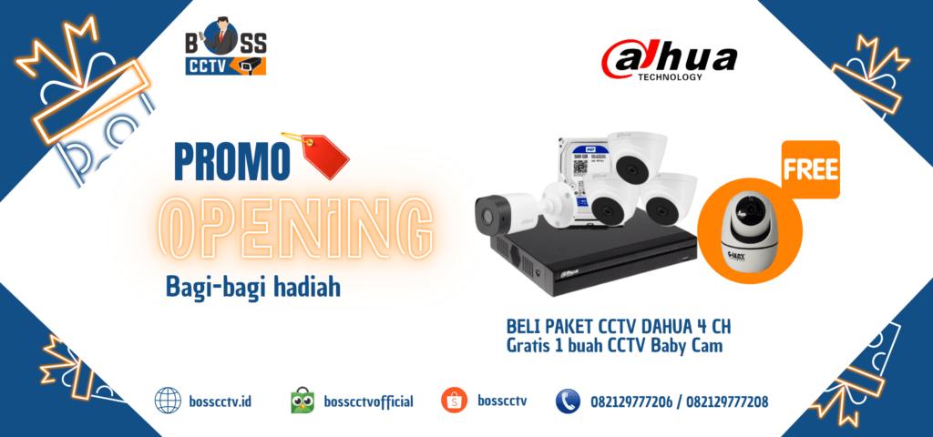 Paket CCTV Murah 2021 Free Instalasi dan Setting Online