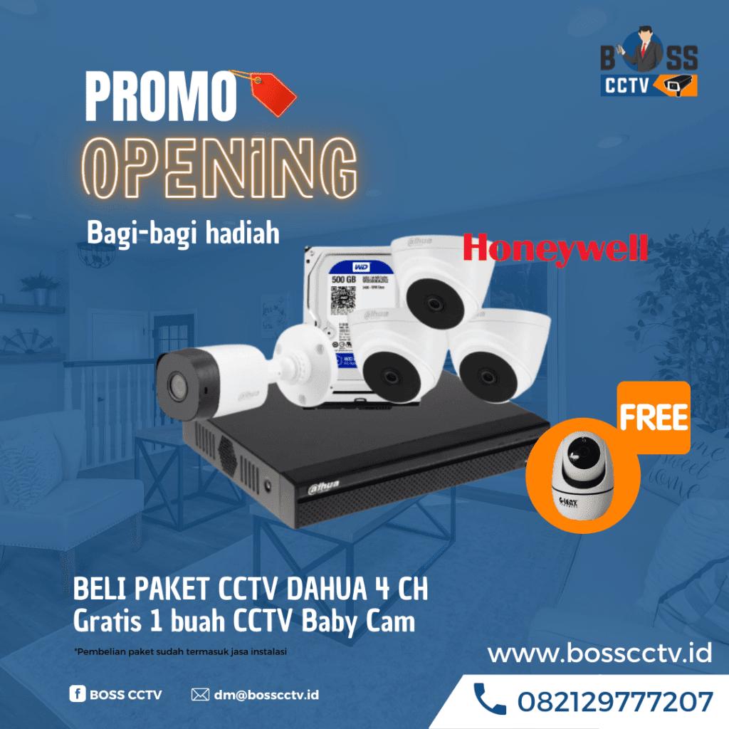 Promo Opening Paket CCTV Honeywell