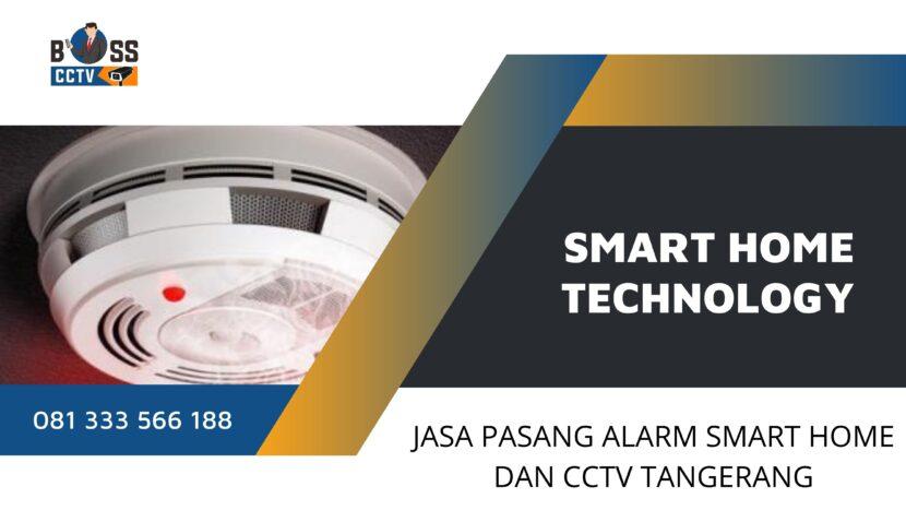 Jasa Pasang Alarm Smart Home dan CCTV Periuk Tangerang Free Instalasi dan Setting Online