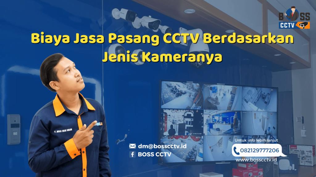 Menentukan Biaya Jasa Pasang CCTV Berdasarkan Jenis Kameranya