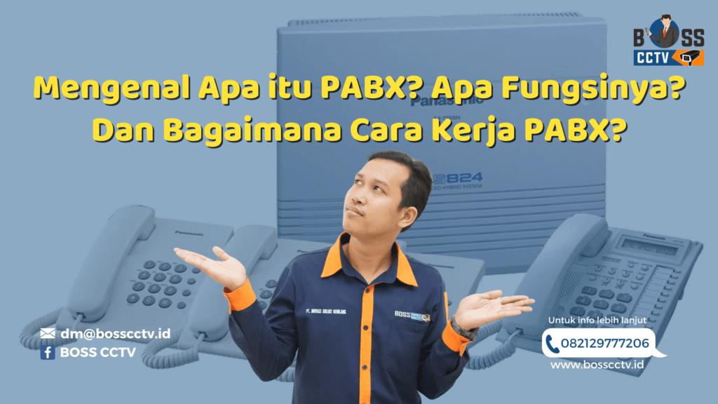 Jasa Pasang PABX Tangerang